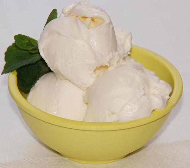 мороженое имбирь-лимон